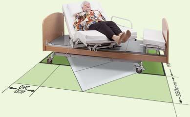 schweizer spezialbett spezialsessel pflegebett aufstehbett rotoflex pflegebett technik. Black Bedroom Furniture Sets. Home Design Ideas