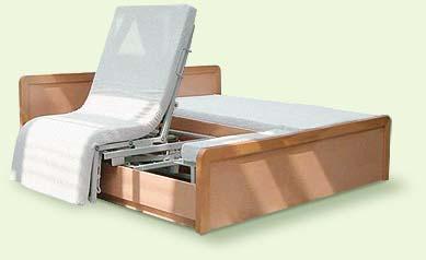 schweizer spezialbett spezialsessel pflegebett aufstehbett rotoflex das aktive aufstehbett. Black Bedroom Furniture Sets. Home Design Ideas